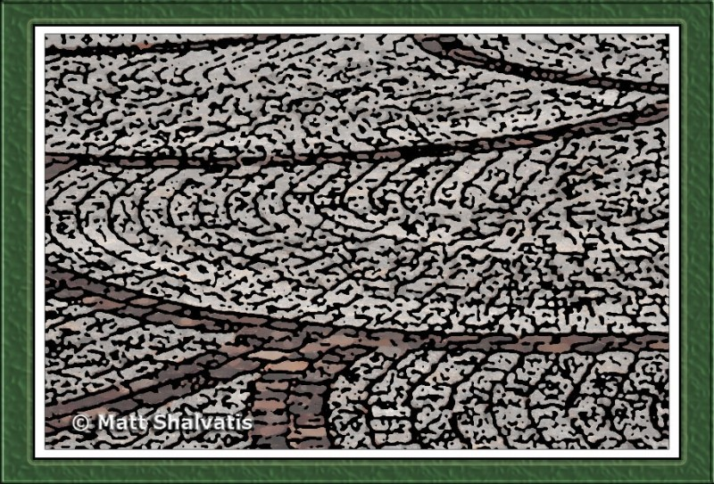 sidewalk cobblestone