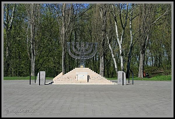 Memorial to Jewish Victims of Babi Yar.