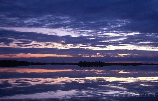 Chincoteague, VA, USA Sunset