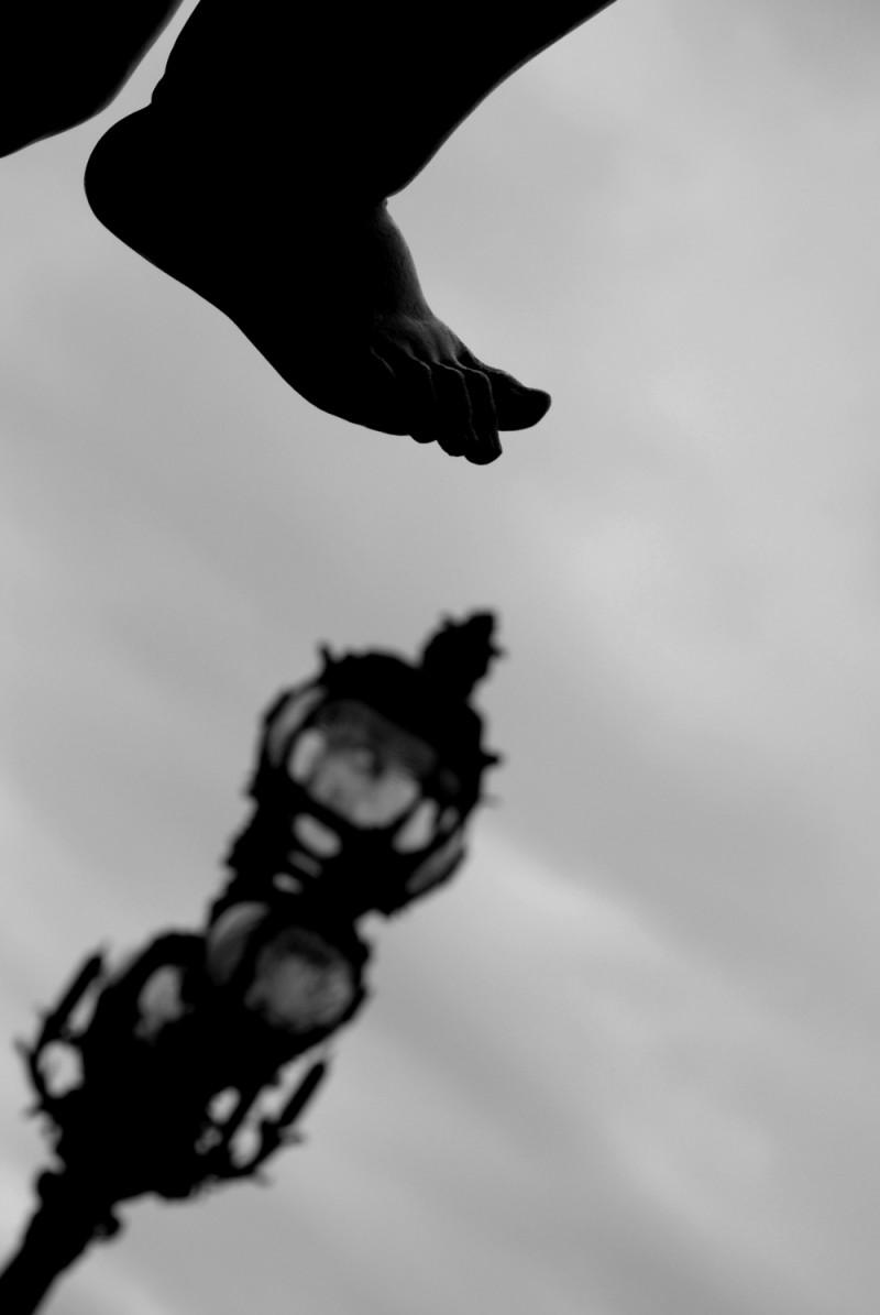 A la pointe du pied