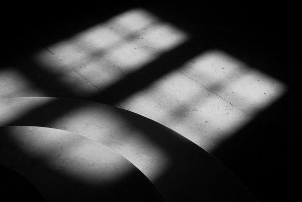 La fenêtre dans l'escalier