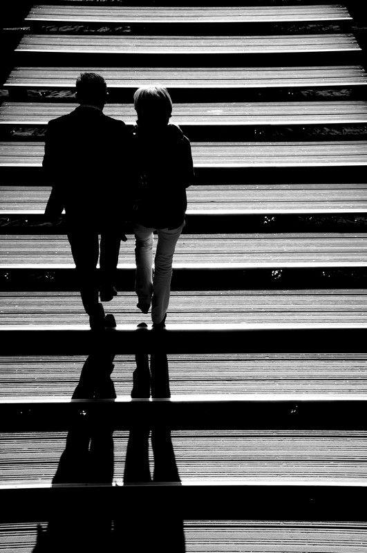 A deux ... et les ombres