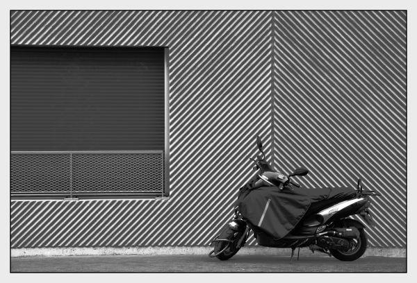 Station de moto