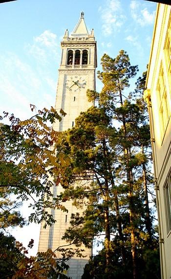campanile berkeley sather tower clock california
