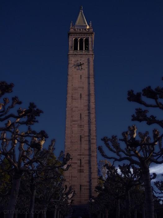 campanile berkeley sather tower clock