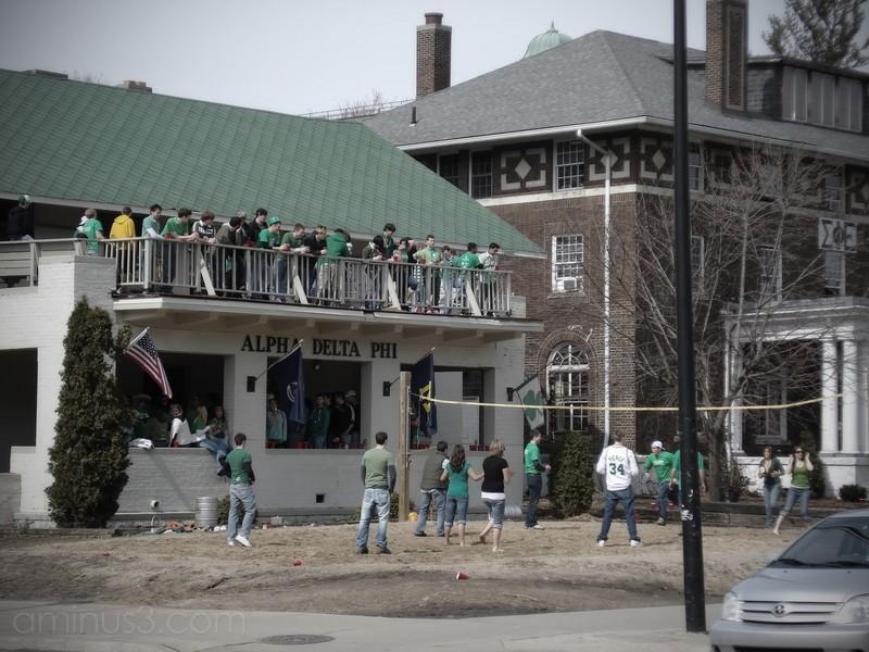 saint st. patrick's day michigan fraternity