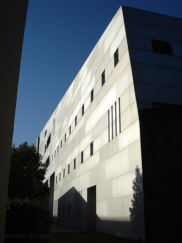 social science building contrast