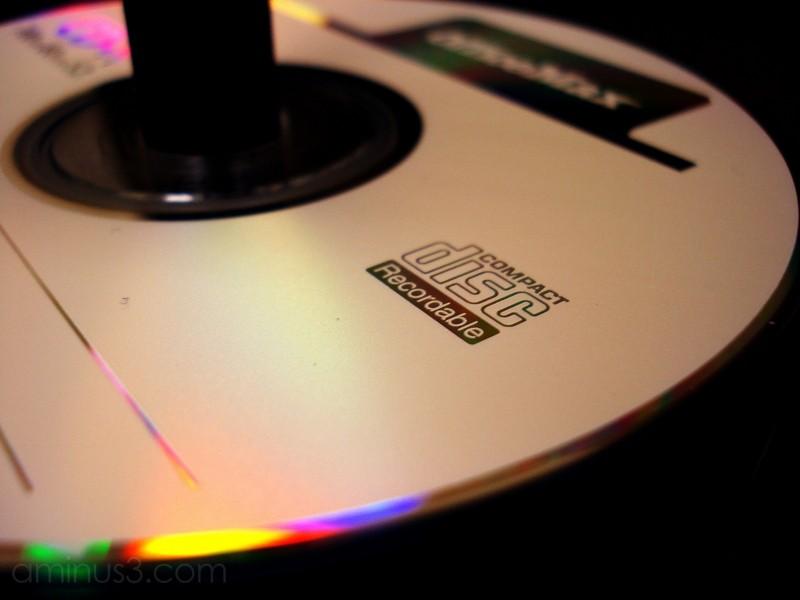 CD compact disc macro