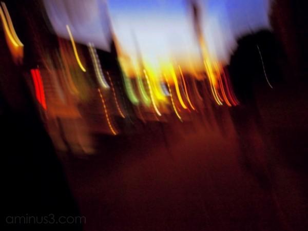 street abtract lights