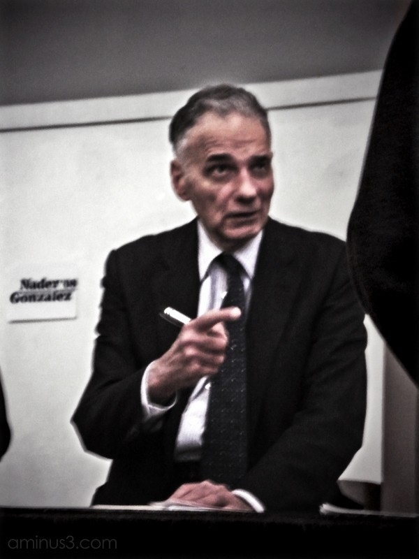 ralph nader president presidential election