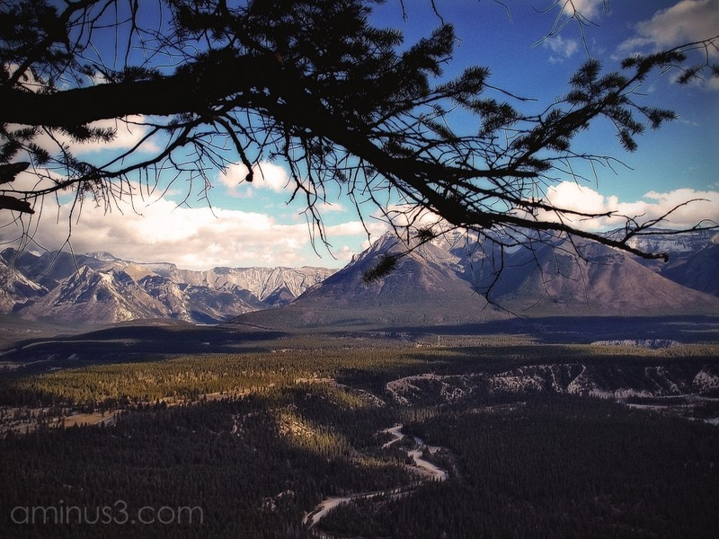 banff alberta canada landscape mountains