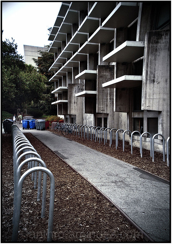 architecture building bike racks street perspectiv