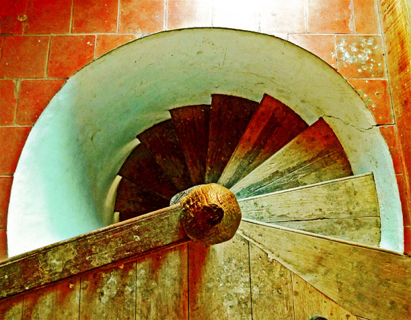 untitled spiral staircase
