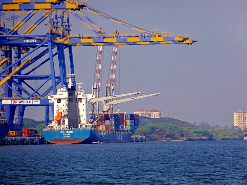 untitled ship in harbor