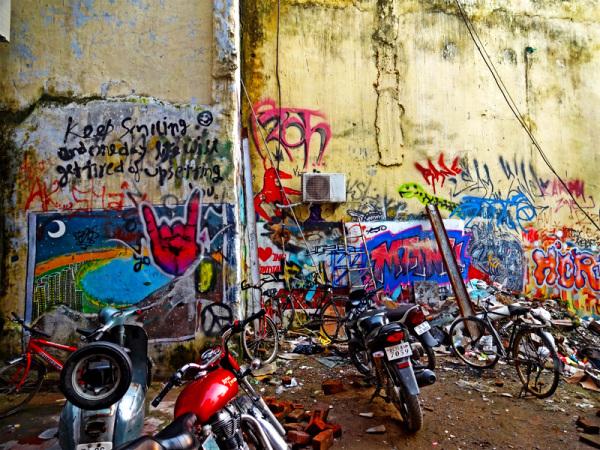 untitled alleyway graffiti