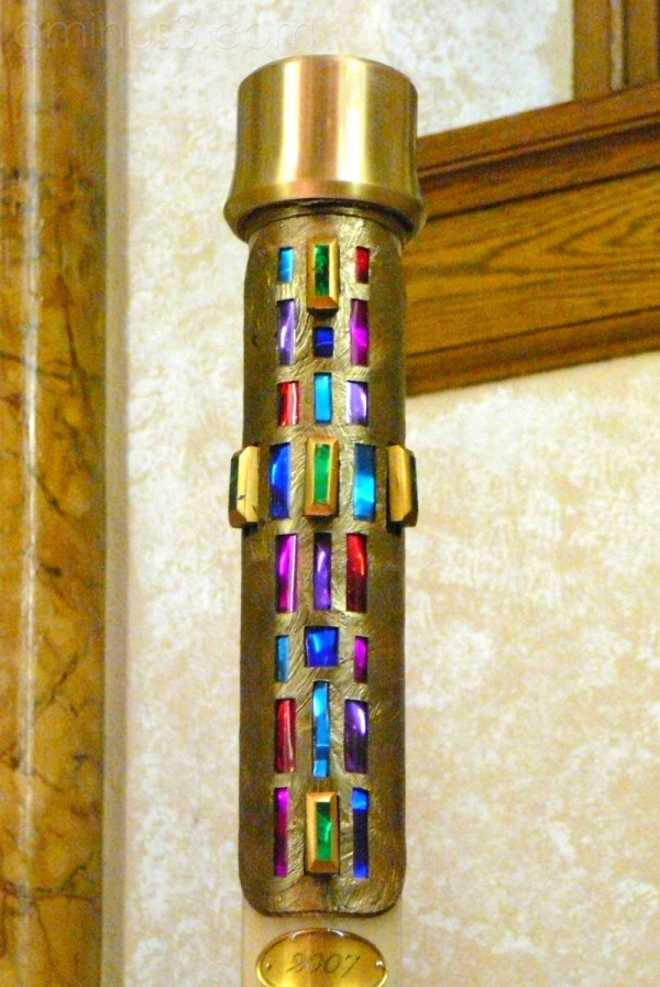 The Paschal Candle ...