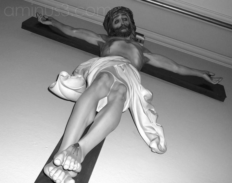 He Hung on the Cross ...
