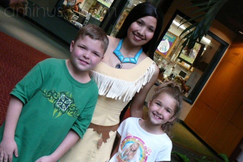 Hangin out with Poccahontas ...