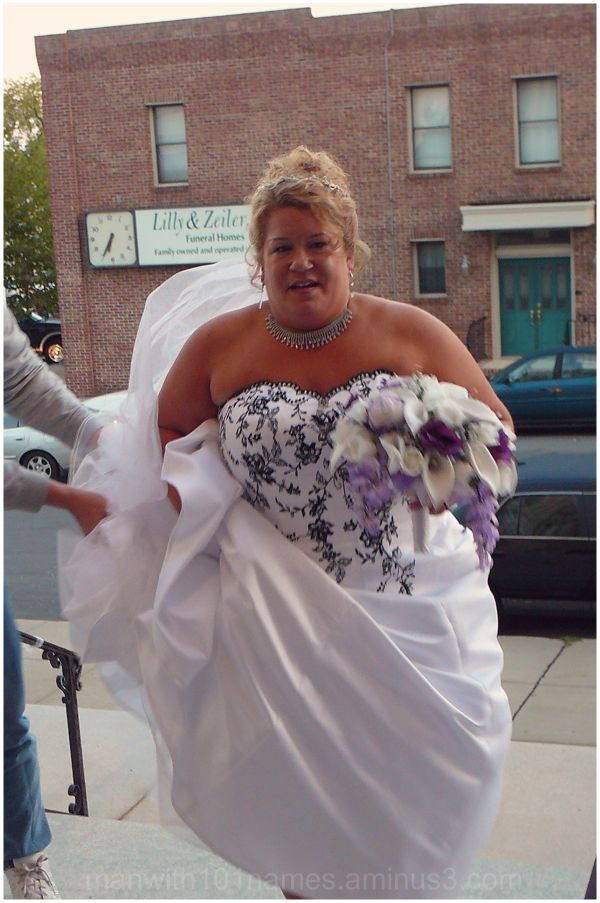 Late for Her own Wedding ...