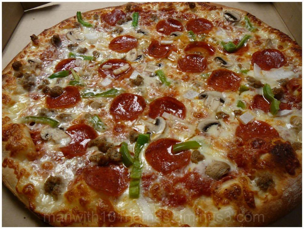 Mamma B's Supreme Pizza