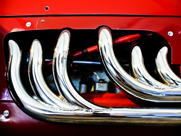 Ferrari Indy Exaust Headers, by Royce Rumey