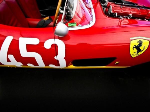 """Ferrari TR, """"453"""" by Royce Rumsey"""