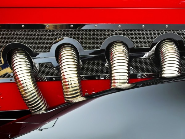 '31 Deusy J Weymann, exhaust manifold by Royce