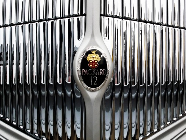 Packard grill detail, Tour d'Elegance by Royce