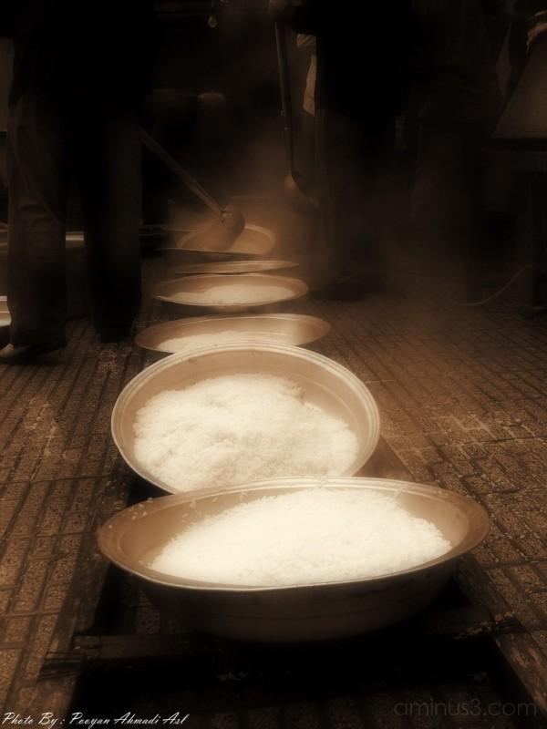 """Making """"Nazri food"""" for poor peoples in ASHOORA"""