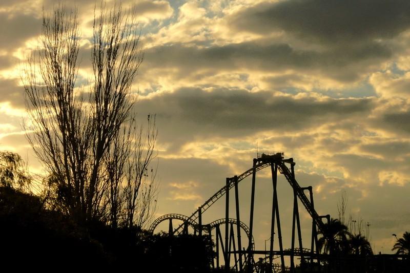 Rollercoaster shot