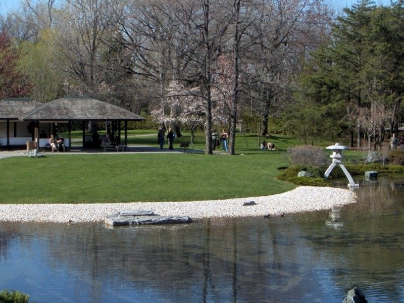Japenese Garden at Montreal Botanical Garden