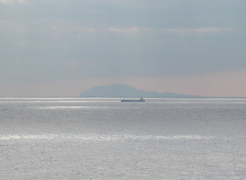 The Pacific beyond the Suzaki Peninsula, Izu