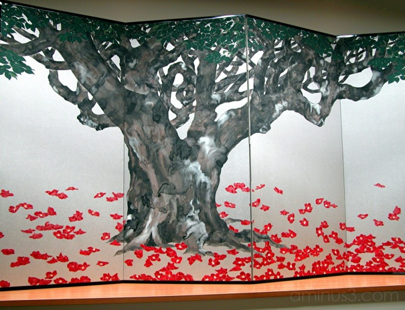 Folding Screen By Susumu MAKI