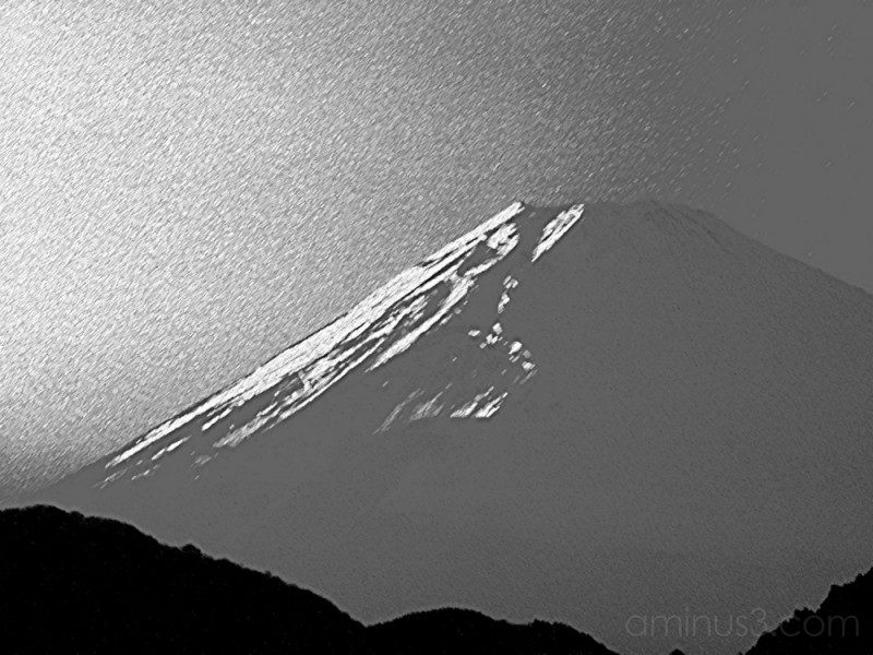 View of Mt.Fuji - photoart