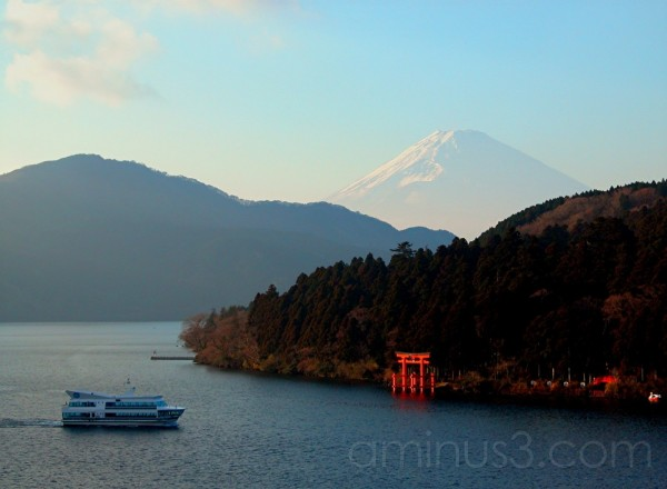 Late afternoon in Hakone, Japan