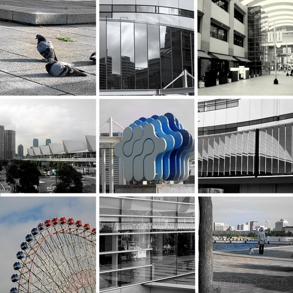 Several views from Yokohama