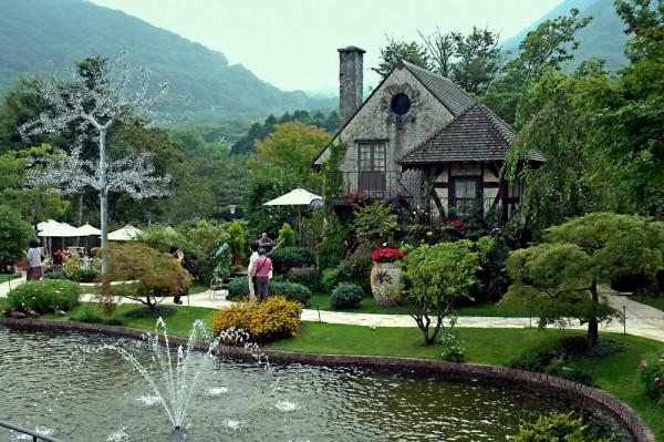 Italian Garden at Hakone Glass Museum