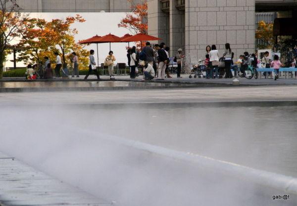 Yokohama Museum of Art - water games