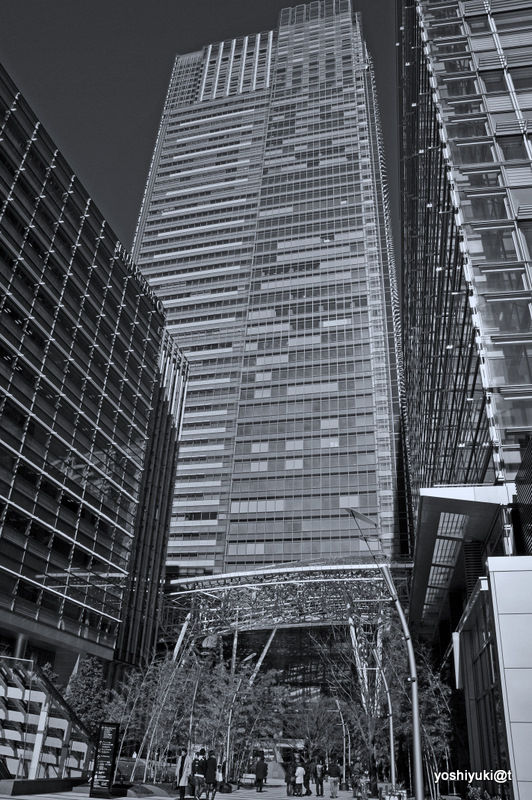 Tokyo Midtown - Plaza and Tower