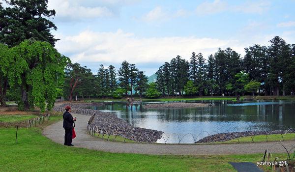 The Pure Land Garden, a Heian landscaped garden