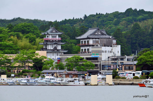 View of Matsushima from the bay