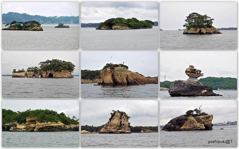Scenic islands of Matsushima Bay