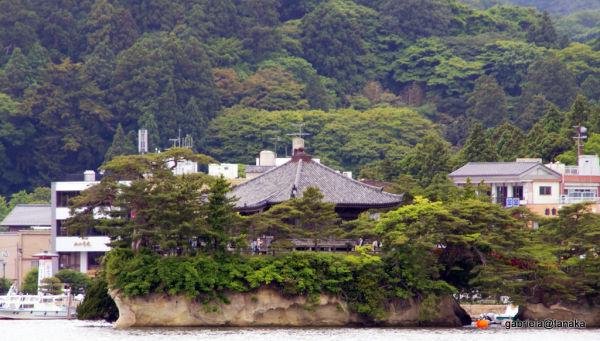 Godaido island and temple,Matsushima