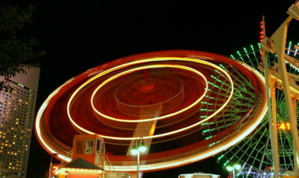 Cosmo World Amusement Park,Yokohama
