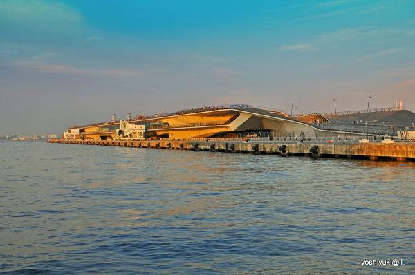 International ship terminal at Yokohama