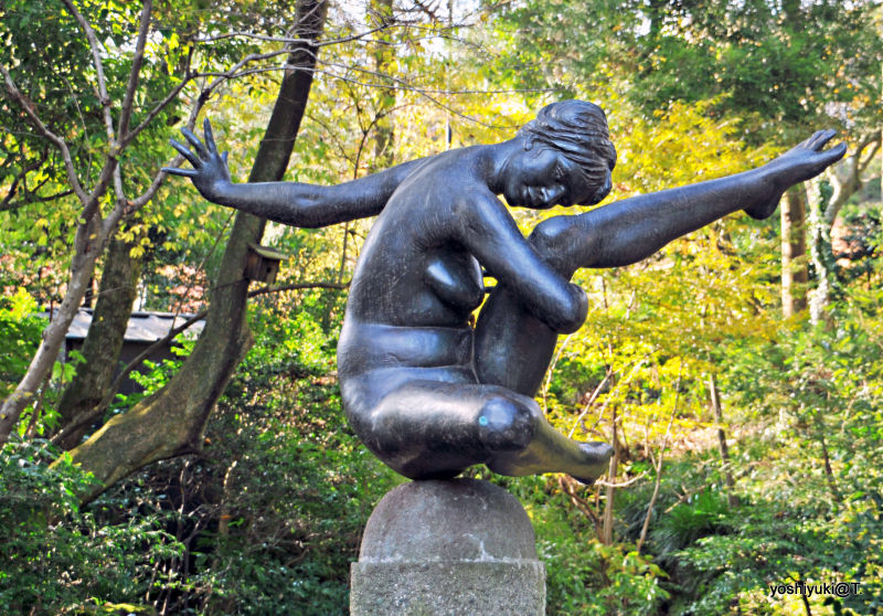 Sculpture at the Hakone open-air museum