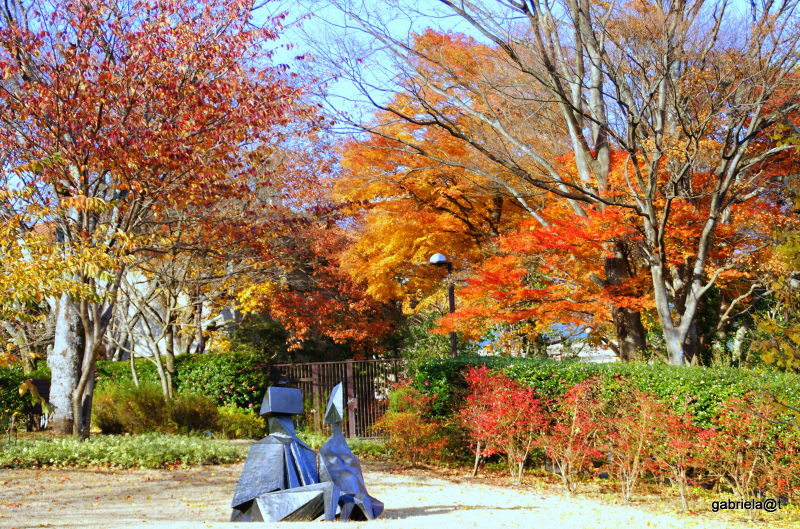 Surrounded by nature at Hakone Open-air Museum
