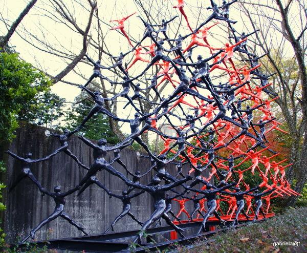 Sculpture by Goto Ryoji (1951-)