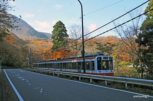 The mountain train, from Yumoto to Gora,Hakone