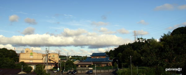 Clouds in an afternoon sky,Wakabadai,Kanagawa